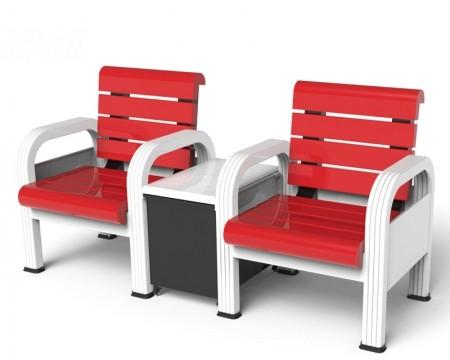 球场铝合金座椅
