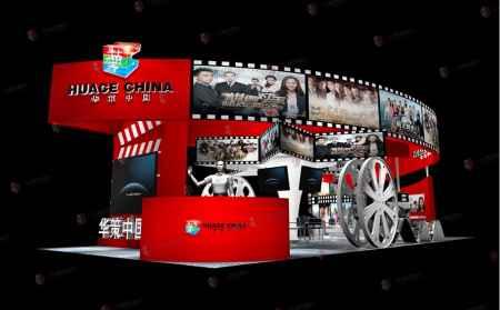 香港展览搭建效果图