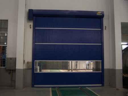 智能静音防锈安全无尘室专用快速卷帘门