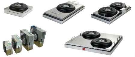 超薄型FFUDCFFU百级净化超高效率超静音超省电风机过滤装置
