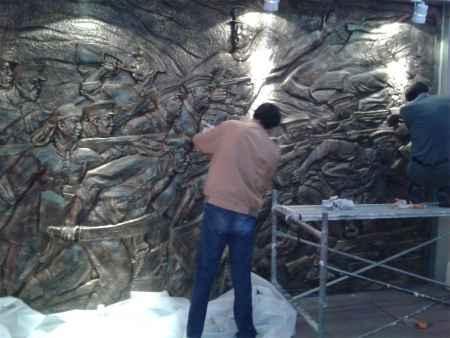 仿铜雕塑加工