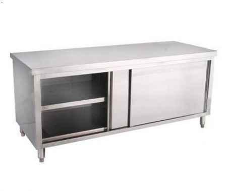 不锈钢单通工作柜