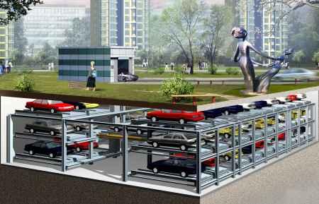 平面移动类停车设备