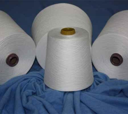 粘胶羊毛混纺纱线