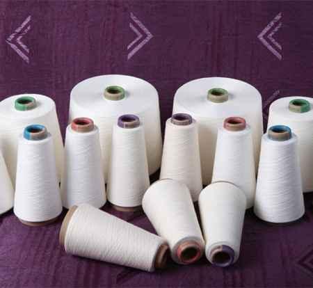 莫代尔绢丝混纺纱线
