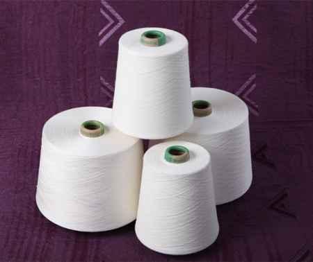 精梳棉绢丝混纺纱线