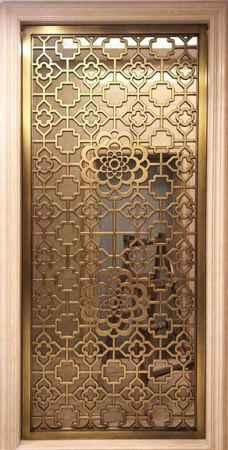 欧式铝艺铜艺不锈钢屏风