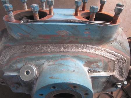 铸铁外壳裂纹焊接