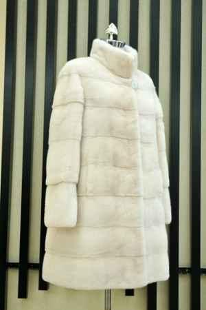 长款水貂皮裘皮大衣