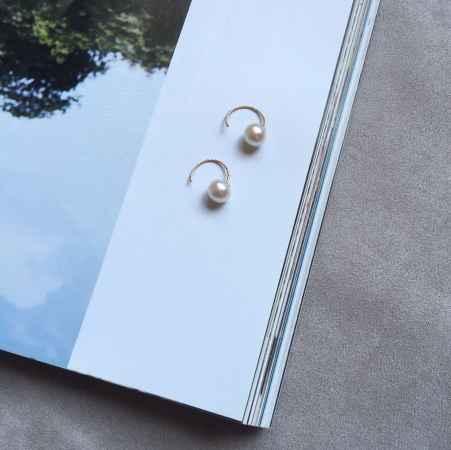 时尚珍珠耳钉