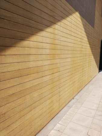 户外竹木墙板