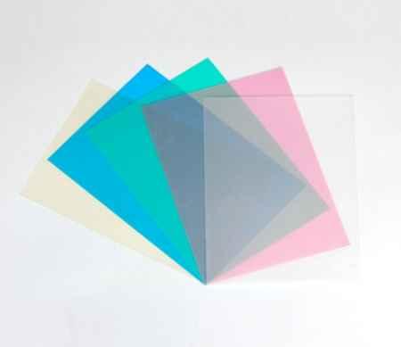 PVC透明及磨砂装订胶片