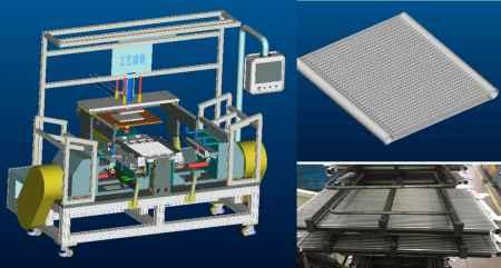 冷凝器芯体组装机