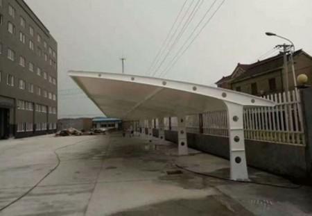 膜结构车棚遮阳篷订购