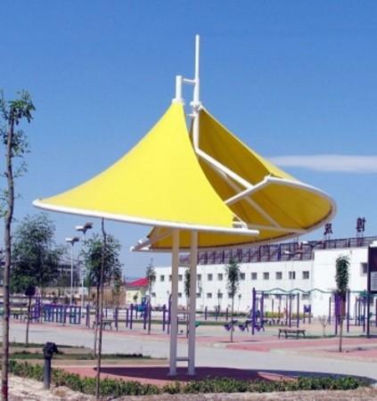 膜结构遮阳伞遮阳棚