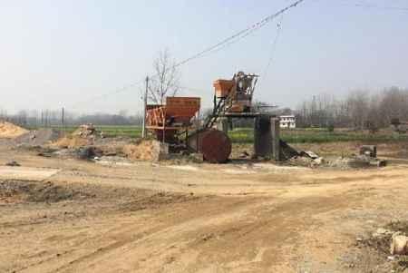 乡下公路工程